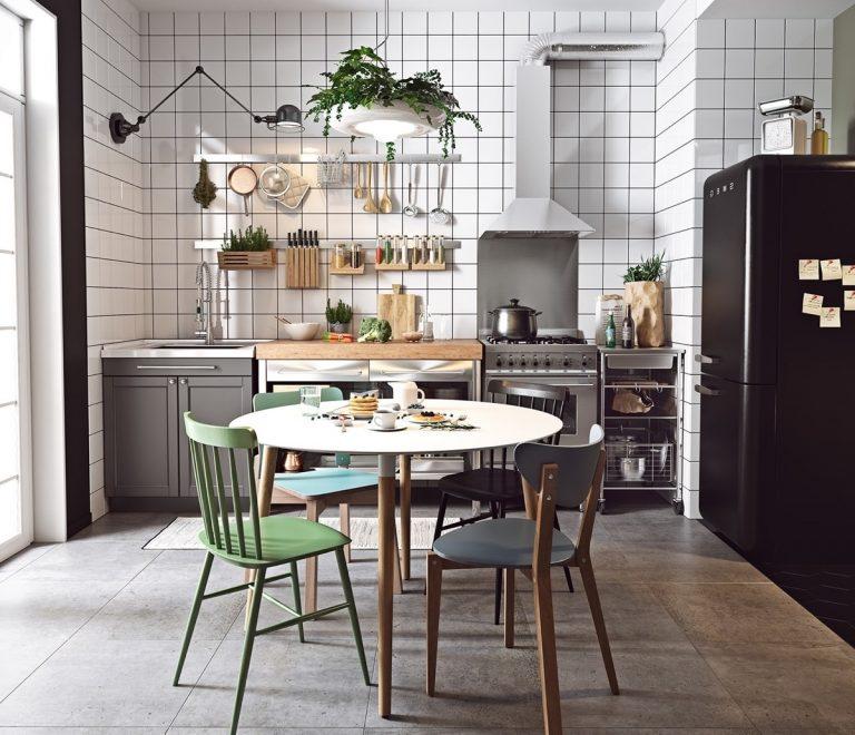 Thiết kế phòng bếp mang đậm chất phong cách Scandinavian
