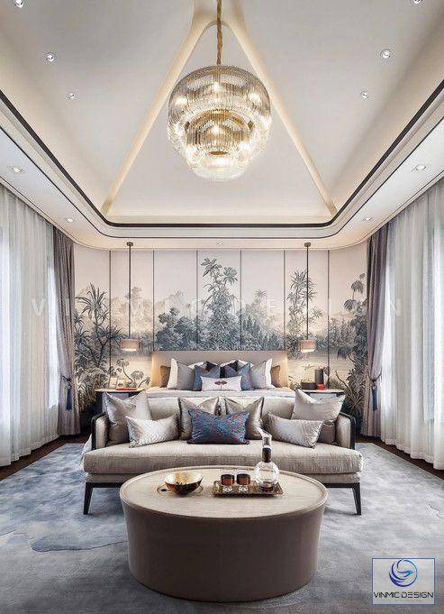 Thiết kế nội thất phòng ngủ tinh tế và sang trọng