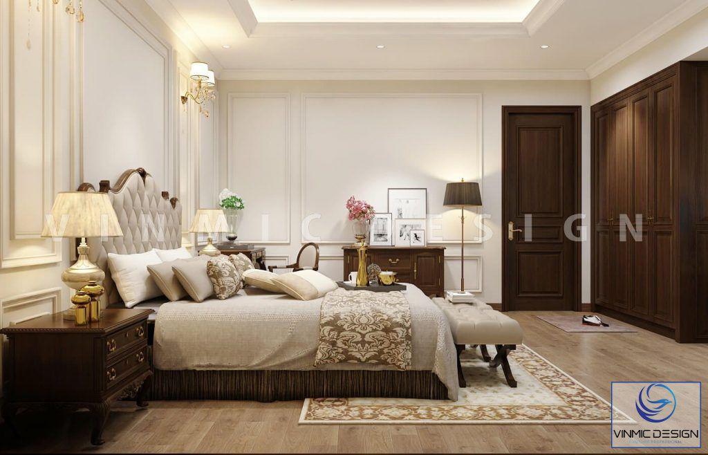 Phòng ngủ phong cách tân cổ điển đẹp