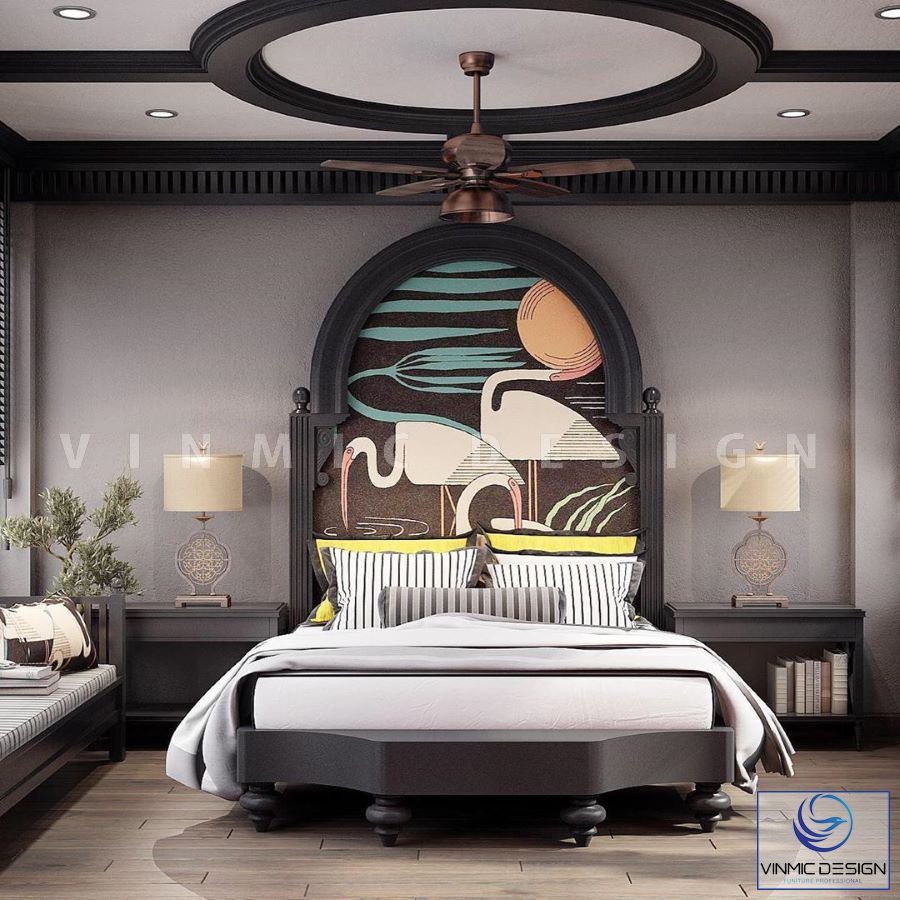 Thiết kế phòng ngủ phong cách Á Đông đẹp và ý nghĩa