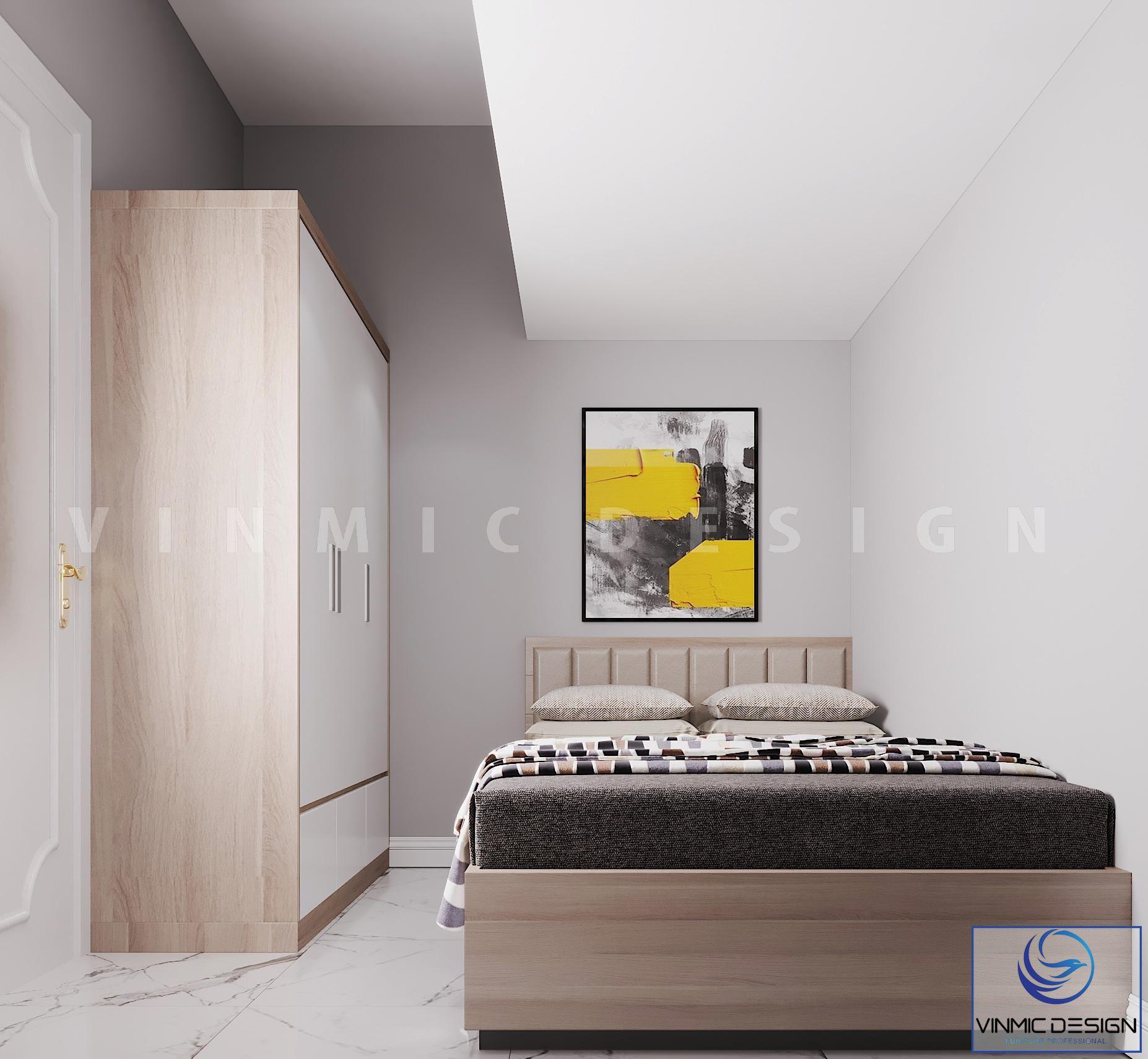 Thiết kế nội thất phòng ngủ bé trai đẹp tại chung cư Goldmark City