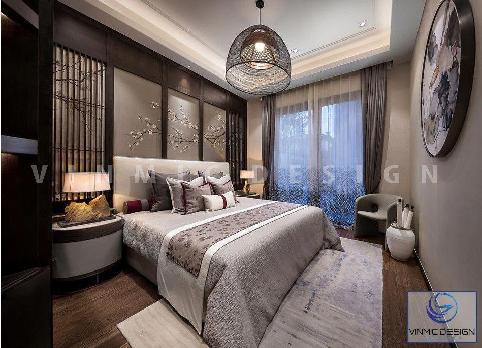 Phòng ngủ đẹp tượng trưng cho xứ sở hoa anh đào