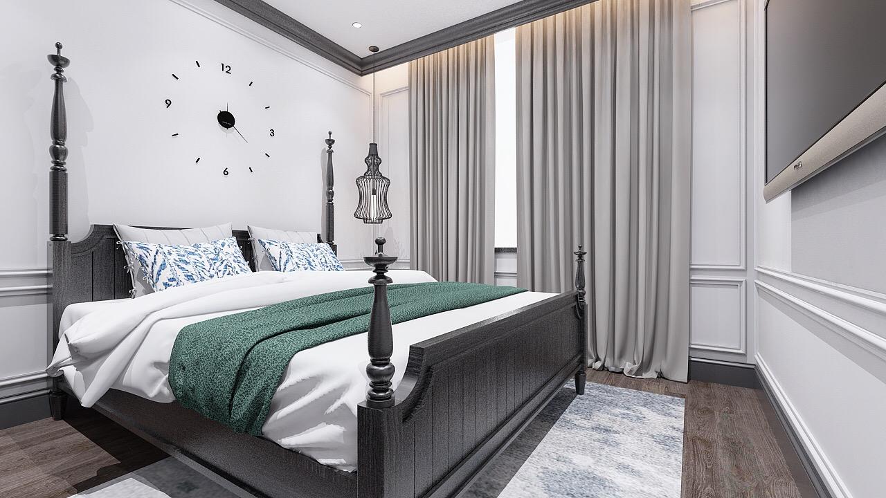 Thiết kế nội thất phòng ngủ nhà cô Hoan