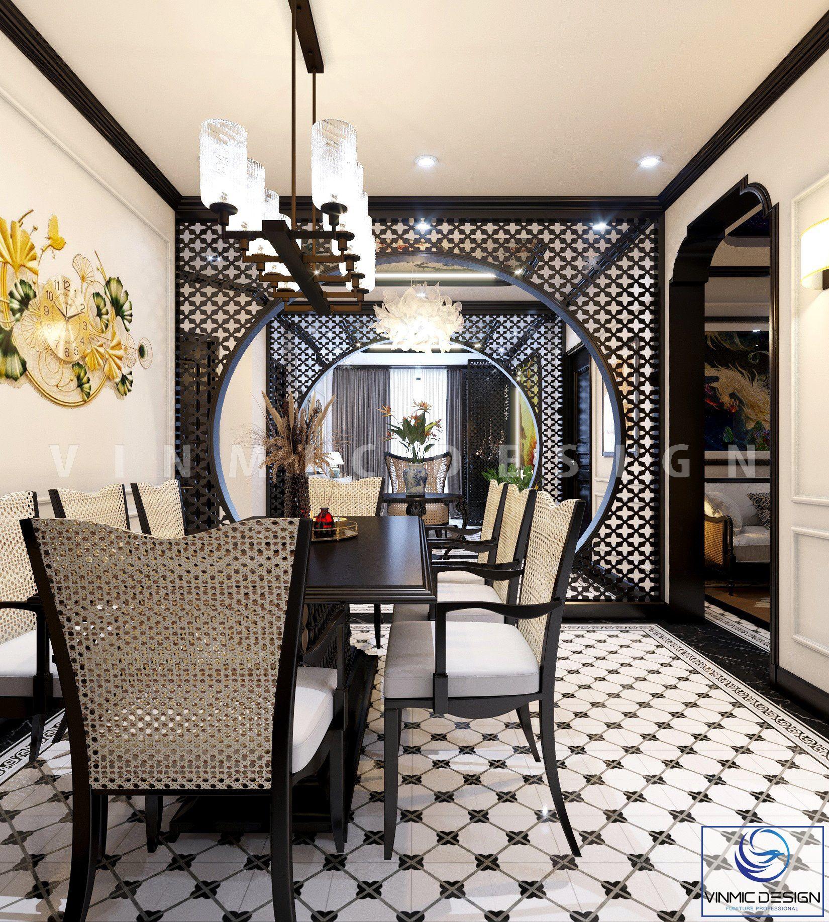 Thiết kế nội thất đẹp tại căn hộ chung cư Sunshine Garden