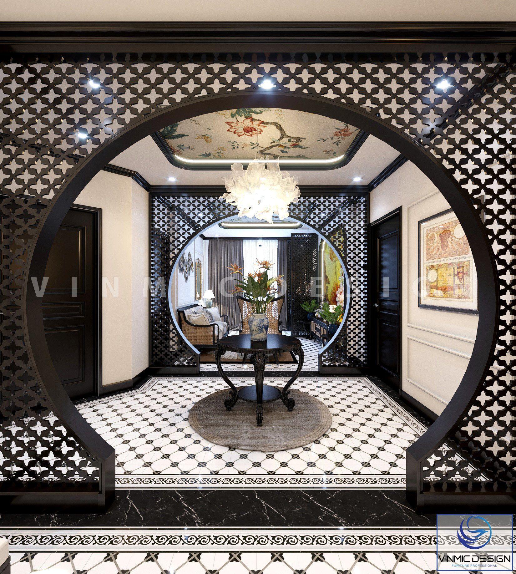 Không gian đẹp đến mê hoặc trong thiết kế nội thất chung cư nhà anh Minh