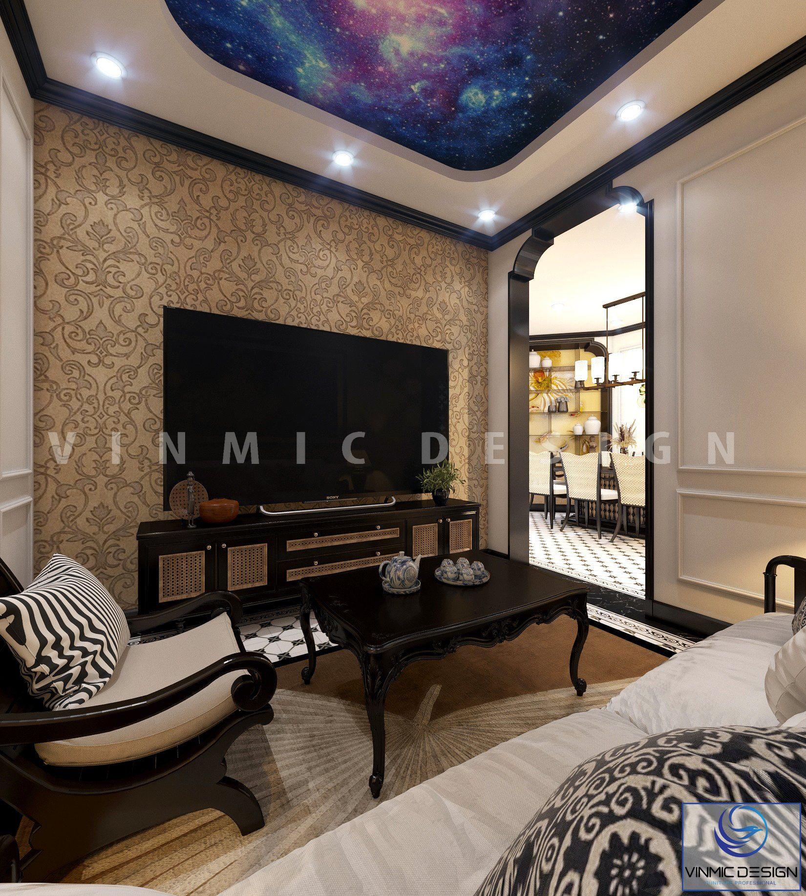 Sự khéo léo trong cách sắp xếp và chọn nội thất đã mang đến cho căn hộ một vẻ đẹp sang trọng và tiện nghi cho căn hộ tại Sunshine Garden