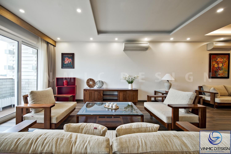 Kệ tivi đơn giản tối ưu diện tích cho căn nhà.