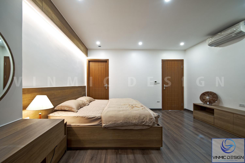 Thiết kế thi công phòng ngủ Vinmic