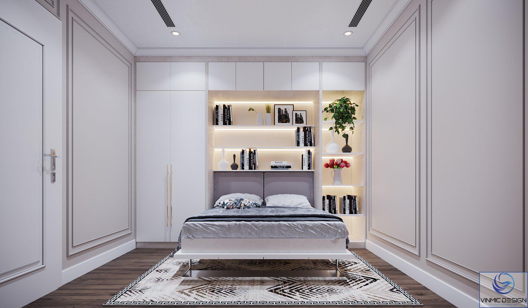 Phòng ngủ khách thiết kế tối ưu nhất.