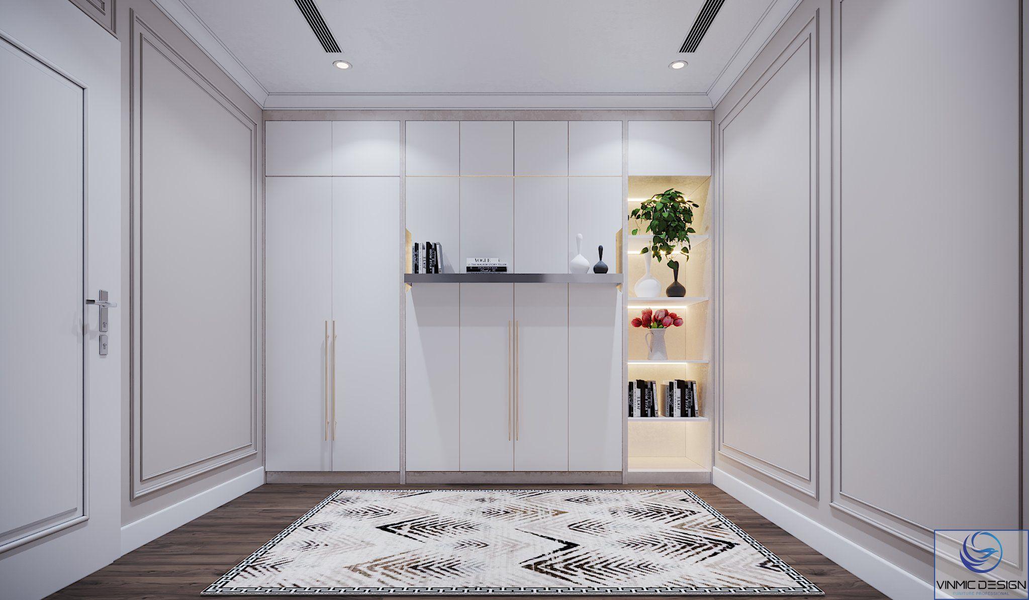 Căn phòng sẽ rộng rãi và tiện ích hơn để gia đình sử dụng vào các việc khác khi không cần giường ngủ.