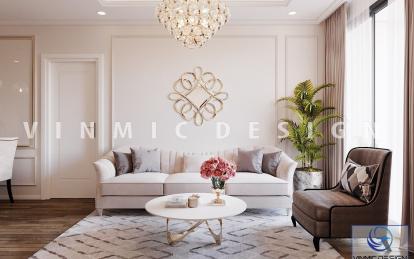 Thiết kế nội thất chung cư phong cách tân cổ điển tại Iris Garden