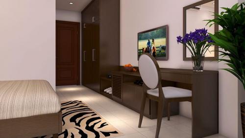 Thiết kế nội thất phòng ngủ khách sạn Hội An – Nội Thất VINMIC VIỆT NAM