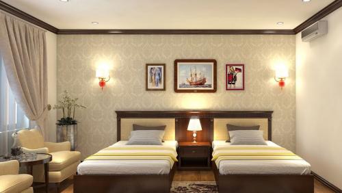 Thiết kế nội thất khách sạn Thành Phố Huế