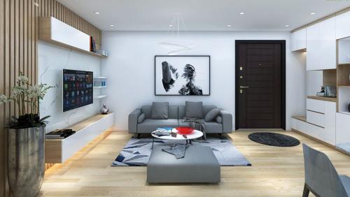 Thiết kế nội thất căn hộ chung cư Hoàng Quốc Việt
