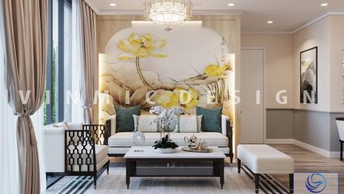 Thiết kế nội thất chung cư Vinhomes Ocean Park, Gia Lâm, Hà Nội