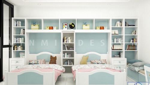 Thiết kế phòng ngủ cho bé sinh đôi, sinh ba,... mới nhất năm 2020