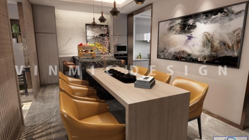 Thiết kế nội thất nhà phố Hải Phòng 2, 3, 4 tầng sang trọng