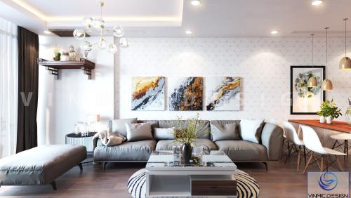 Thiết kế nội thất căn hộ chung cư Imperia Sky Garden