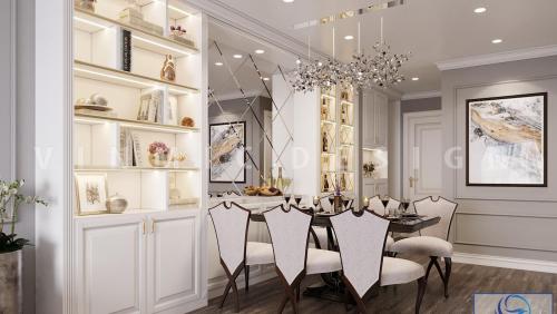 Thiết kế nội thất căn hộ chung cư Sapphire Place
