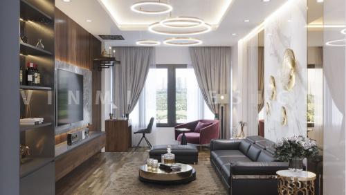 Thiết kế nội thất nhà phố tại Định Công Hà Nội