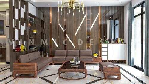 Thiết kế nội thất phòng khách biệt thự đẹp nhất năm nay
