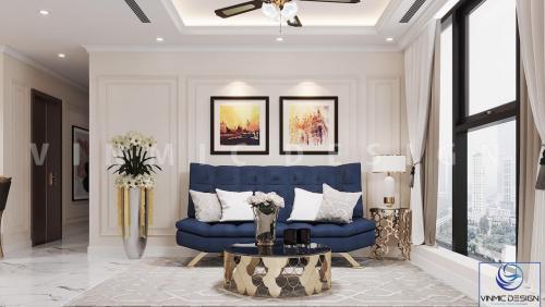 Thiết kế nội thất căn hộ chung cư Vinhomes West Point