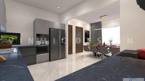 Thiết kế nội thất chung cư hiện đại Season Avenue