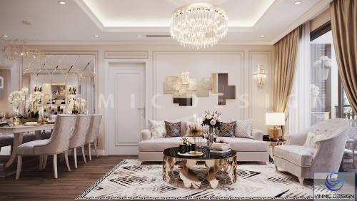Thiết kế nội thất chung cư Season Avenue sang trọng