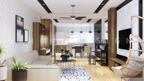 Thiết kế nội thất chung cư Sunshine City đẹp mắt