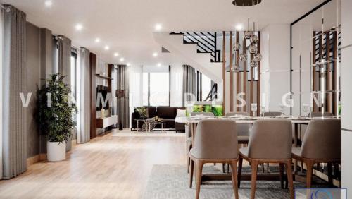 Thiết kế nội thất Nhà phố Cao Xanh, Hạ Long
