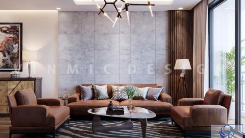 Thiết kế nội thất tại chung cư Vinhomes Green Bay
