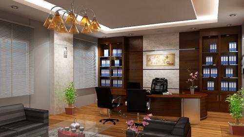 Thiết kế nội thất phòng giám đốc đẹp nhất năm nay