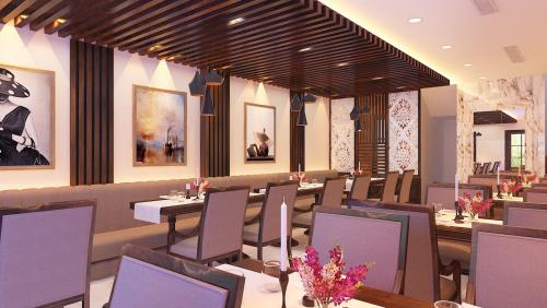 Các mẫu thiết kế nội thất nhà hàng ấn tượng