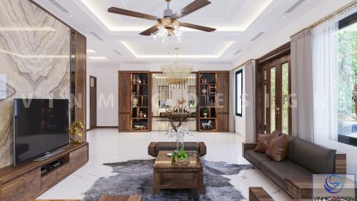 Thiết kế nội thất biệt thự hiện đại Vinhomes Thanh Hóa