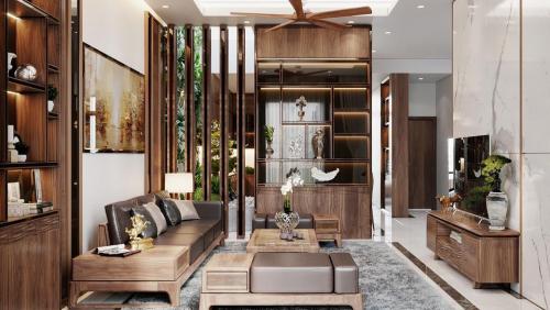 Thiết kế nội thất nhà phố hiện đại tại Việt Trì-Phú Thọ