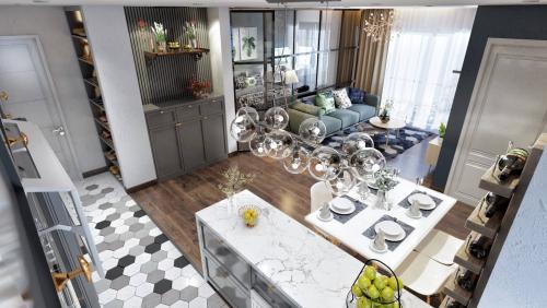 Thiết kế nội thất chung cư đẹp Sunshine Center
