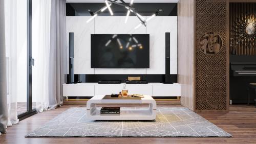 Thiết kế nội thất chung cư hiện đại Vinhomes Ocean Park