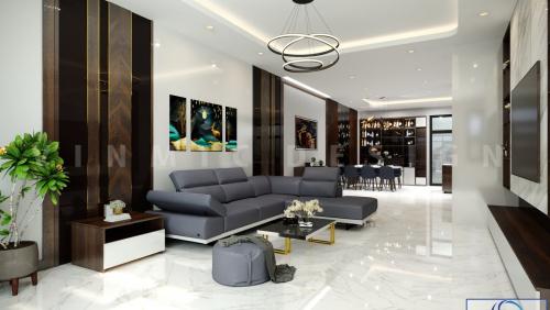 Thiết kế nội thất nhà ở đẹp tại Long Biên, Hà Nội