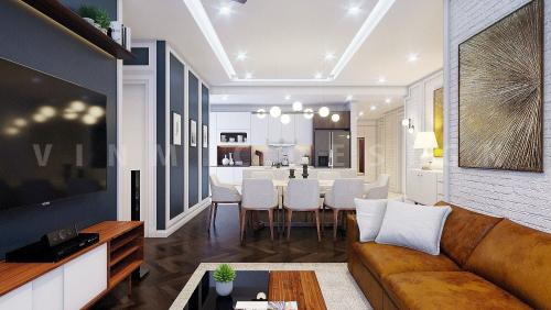 Thiết kế nội thất căn hộ chung cư King Palace, Hà Đông