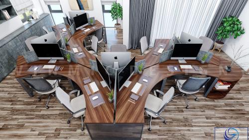 Thiết kế nội thất văn phòng đẹp tại khu đô thị Dượng Nội