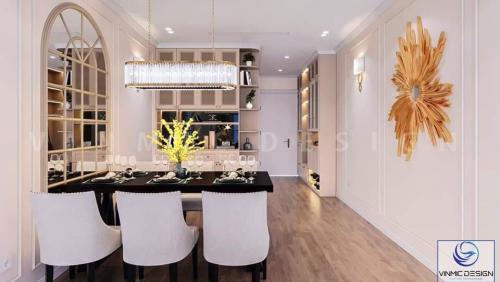Thiết kế nội thất chung cư Vinhomes Smart City