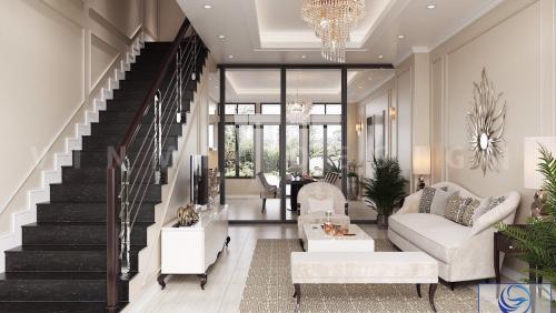 Thiết kế nội thất nhà phố đẹp tại Hà Đông, Hà Nội