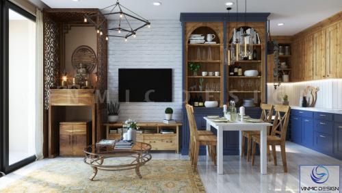 Thiết kế nội thất căn hộ chung cư Sunshine City