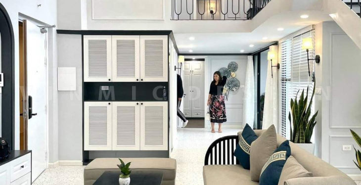 Thi công nội thất căn hộ với phong cách Indochine