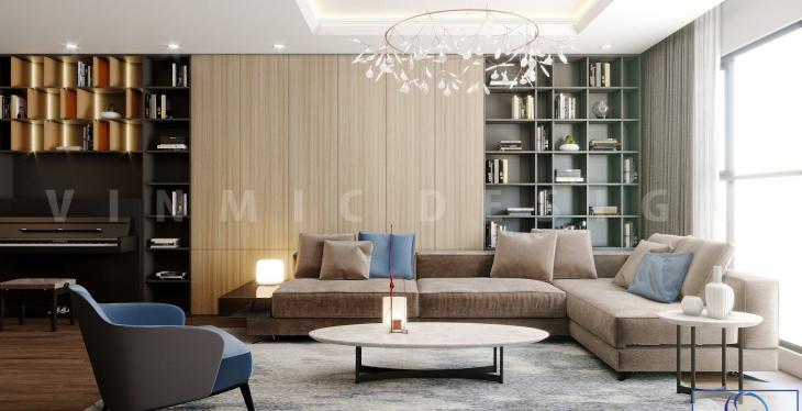 Thiết kế nội thất chung cư hiện đại Mulberry Hà Đông