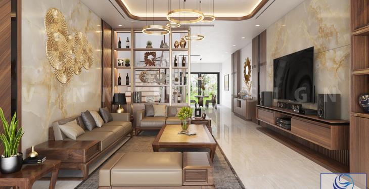 Thiết kế nội thất nhà phố hiện đại tại thành phố Lào Cai