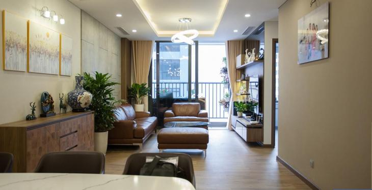 Thi công nội thất chung cư phong cách hiện đại
