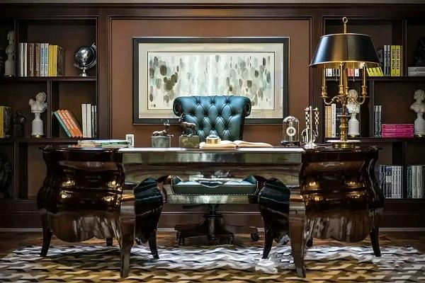 Bộ bàn ghế sang trọng, đậm chất phong cách cổ điển