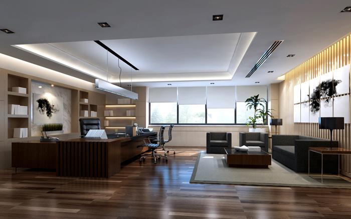 Thiết kế nội thất phòng giám đốc phong cách hiện đại